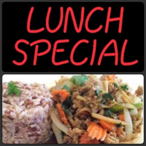 Lunch Special Menu 11:00 AM-3:00 PM
