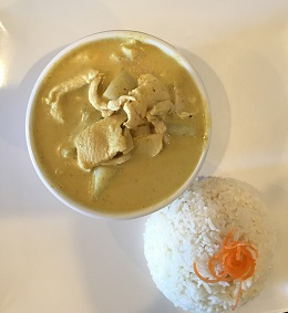 Yellow curry (Lunch Special)