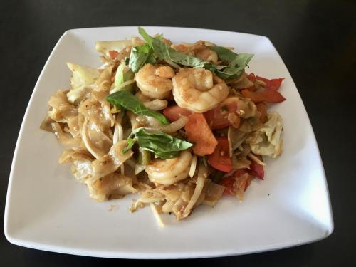 Pad Kee Mow Noodle