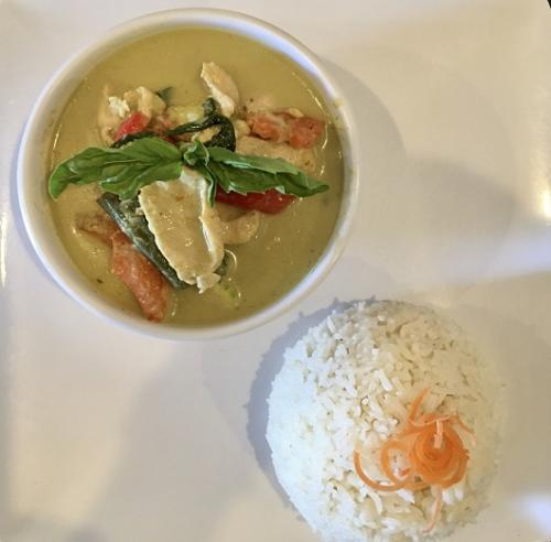 Green Curry (lunch special)